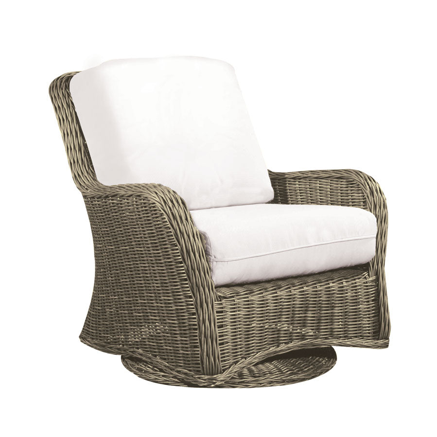 Coastal Swivel Glider Club Chair