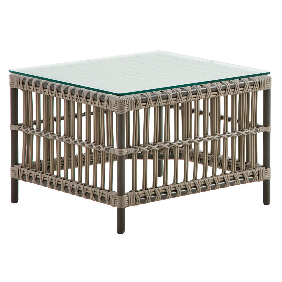 Courtyard End Table - Moccacino