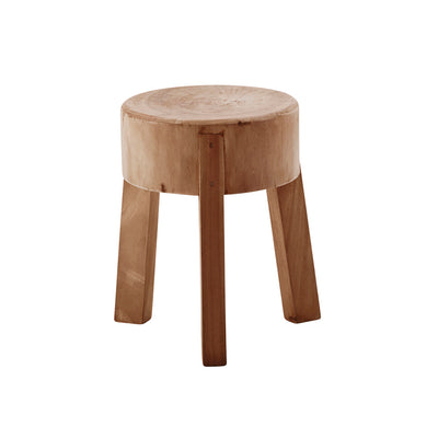Lucas Teak Stool - Natural