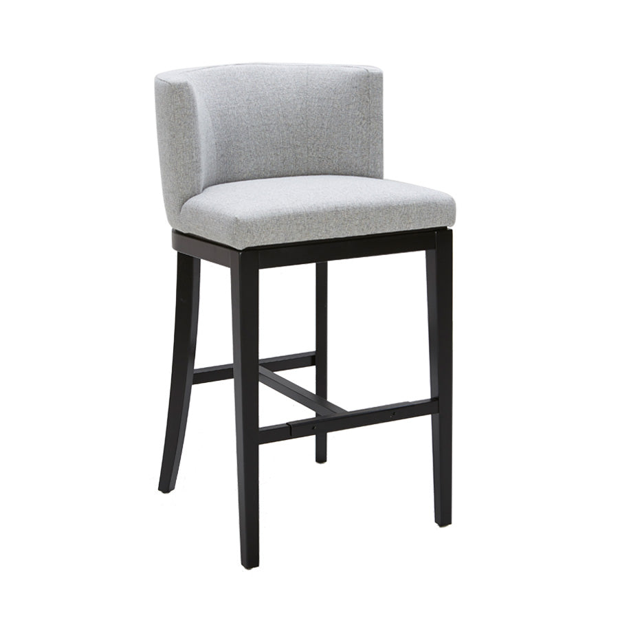 Hayden Bar Stool - Marble Fabric