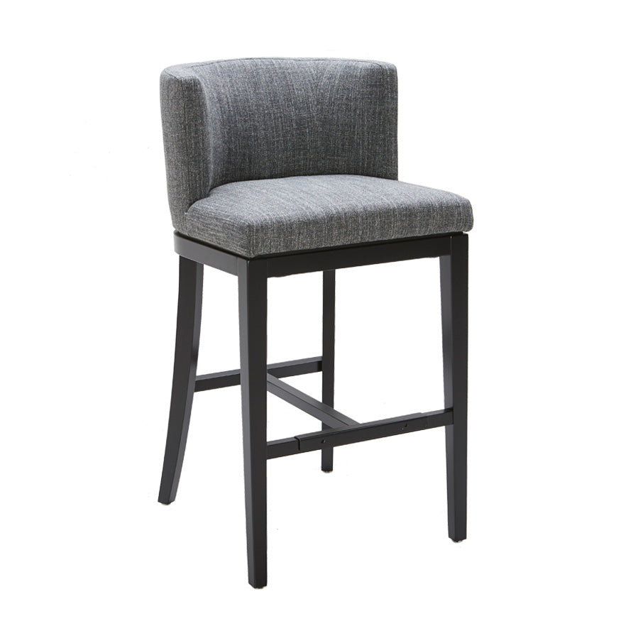 Hayden Bar Stool - Quarry Fabric