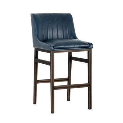 Halden Armess Bar Stool - Vintage Blue