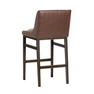 Halden Bar Stool - Vintage Cognac