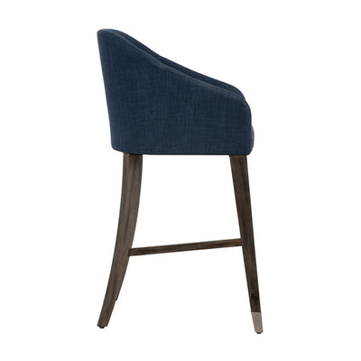Nellie Bar Stool - Arena Navy