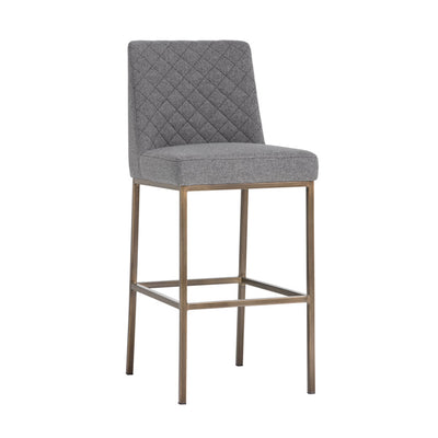 Leighland Bar Stool - Dark Grey