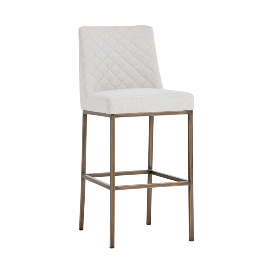 Leighland Bar Stool - Light Grey