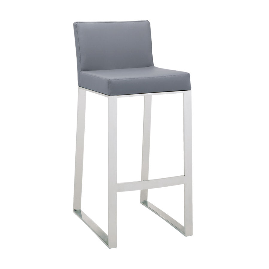 Architect Bar Stool - Grey