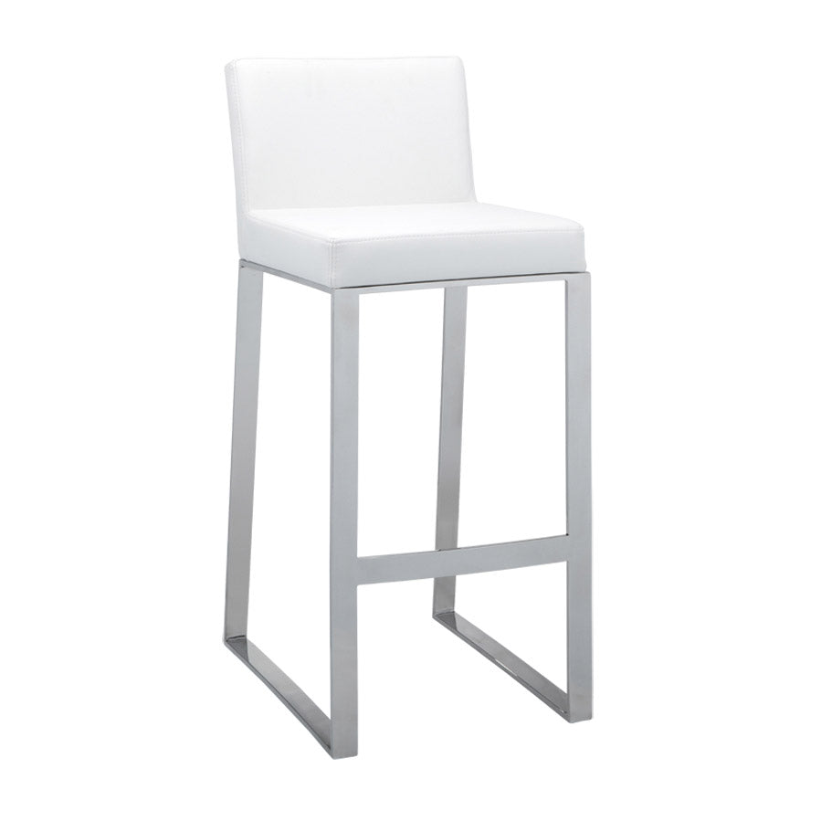 Architect Bar Stool - White