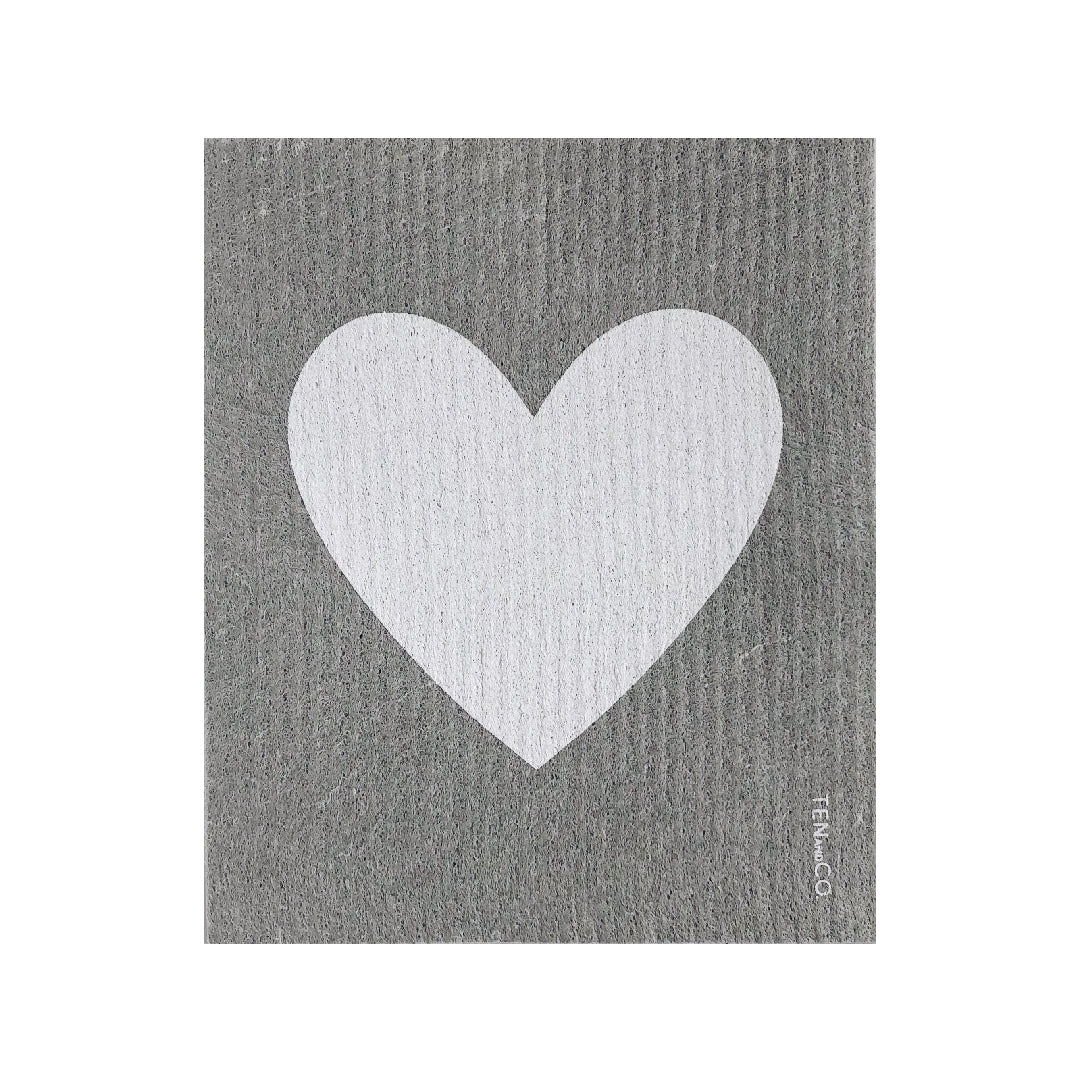 Big Love Grey Sponge Cloth
