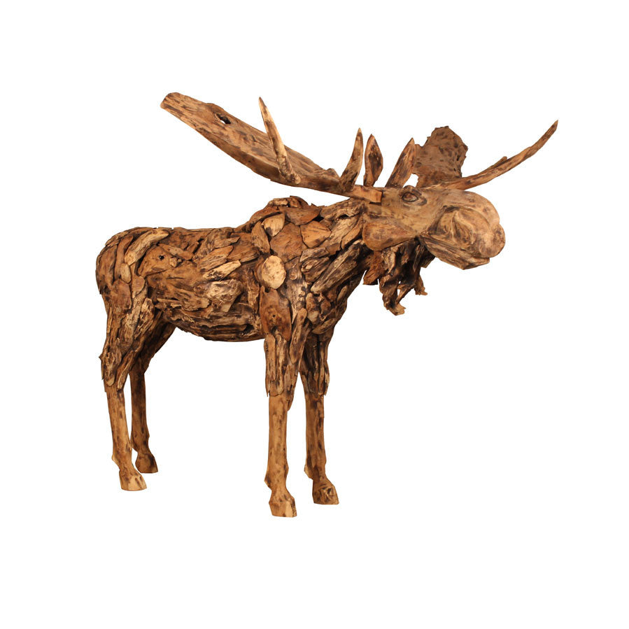 Reclaimed Teak Moose