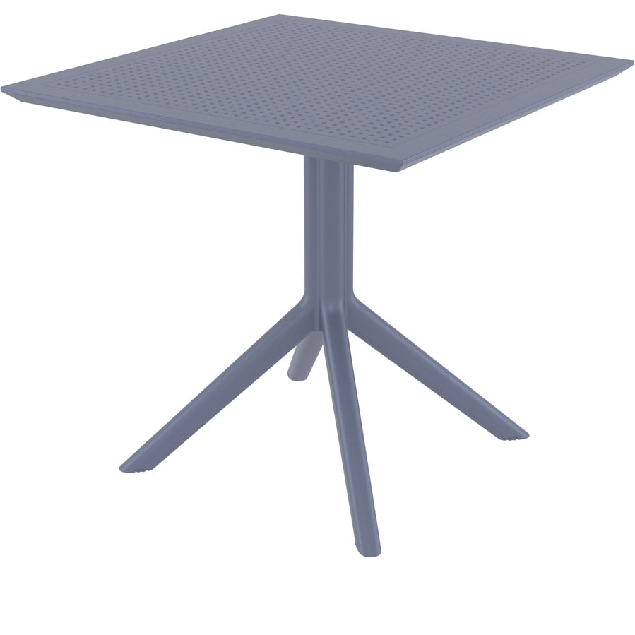 "Sky 31.5"" Dining Table - Dark Grey"