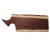 Engraved Walnut Charcuterie Board - Happy Hour