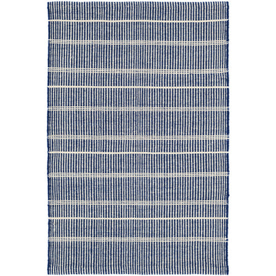 Dash & Albert Samson Navy Indoor/Outdoor Rug