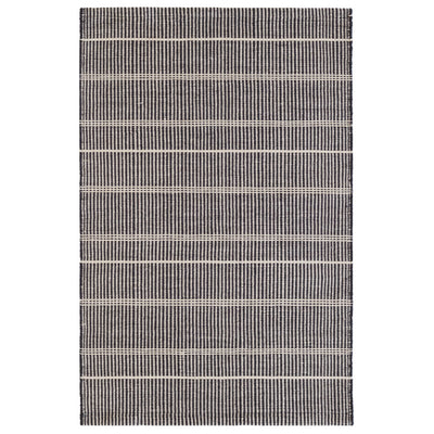 Dash & Albert Samson Black Indoor/Outdoor Rug