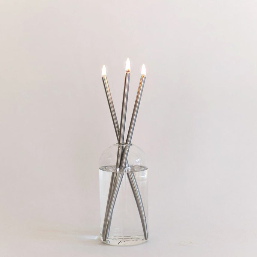 Everlasting Candle Kit - Silver