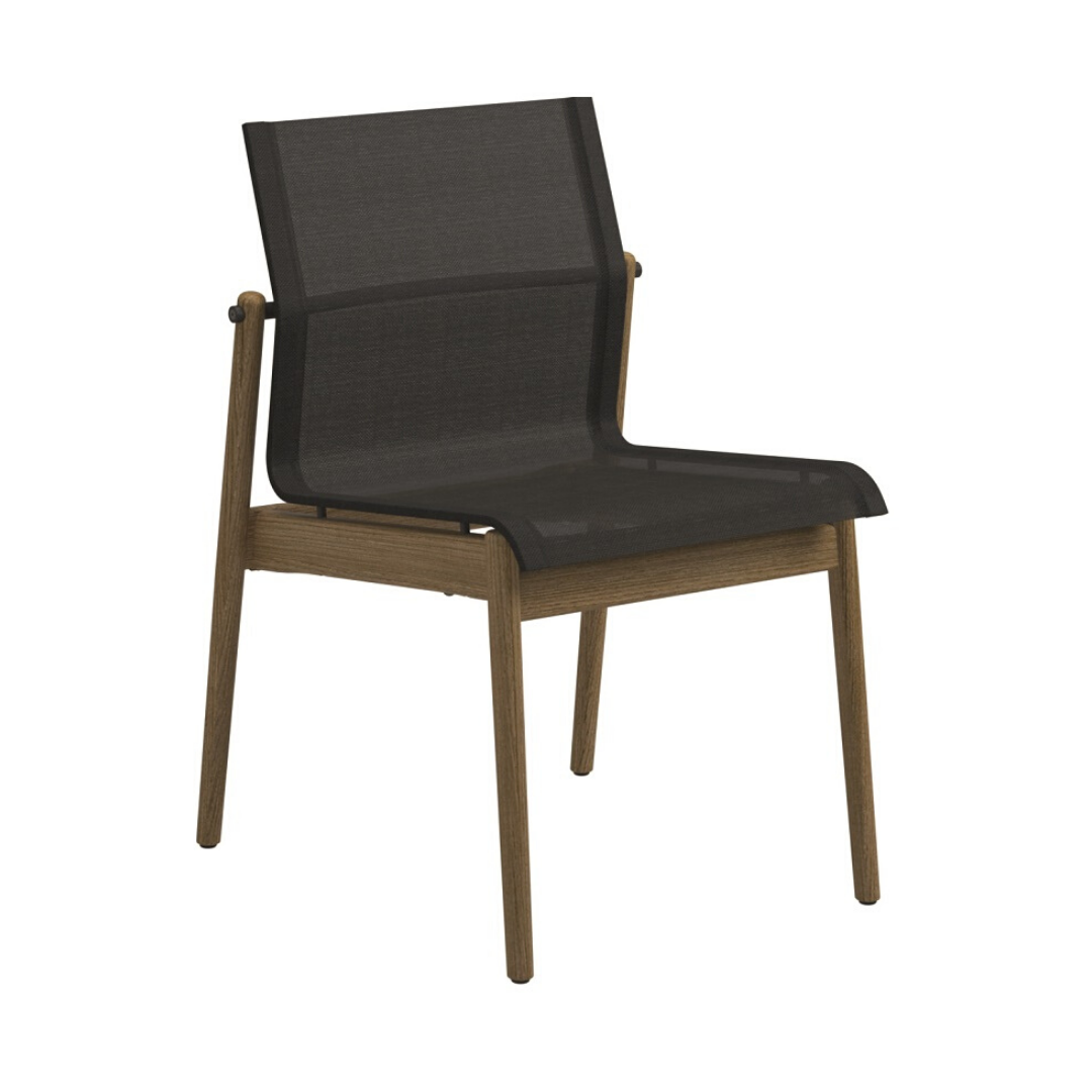 Gloster Sway Side Chair - Anthracite