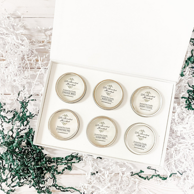 Winter Candle Gift Box