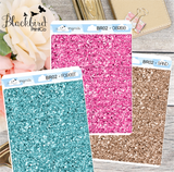 Glitter Headers | Available in 17 colours!