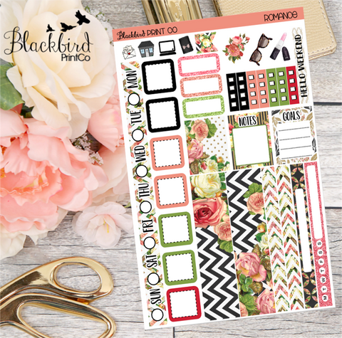 Romance | Planner Sticker Kit for Hobonichi Weeks Planners