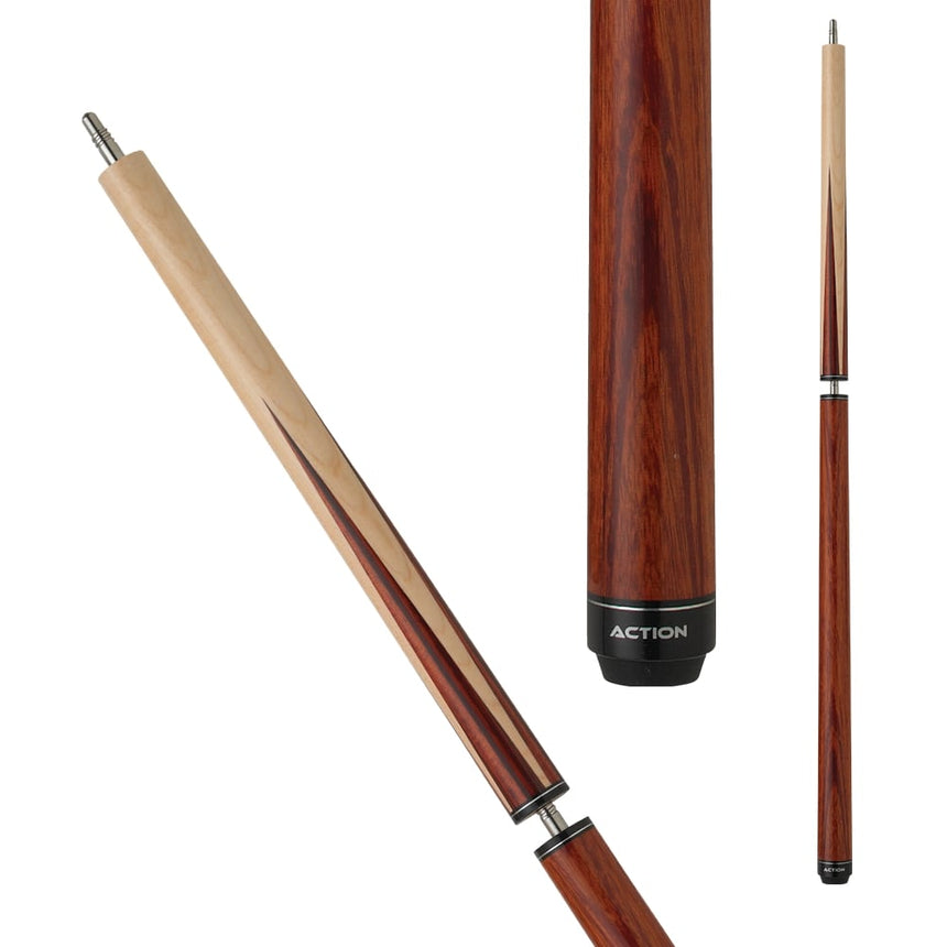 Action ACTBJR Red Stained Break Jump Cue
