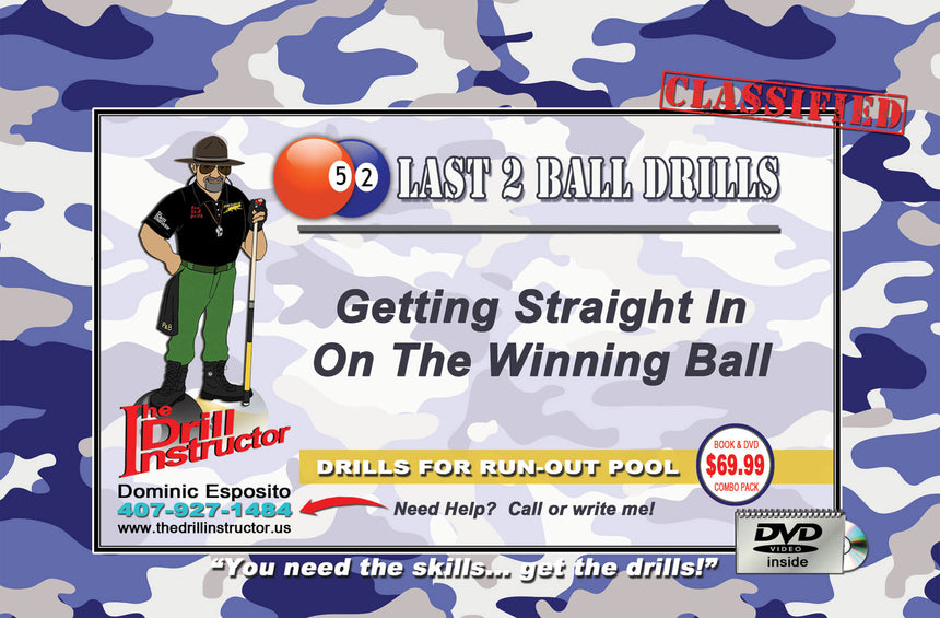 Drill Instructor Last Two Balls Drills DVD and Book Set