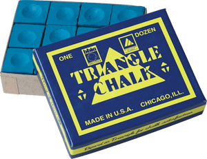 Triangle Chalk 12 Piece Box - CHT12
