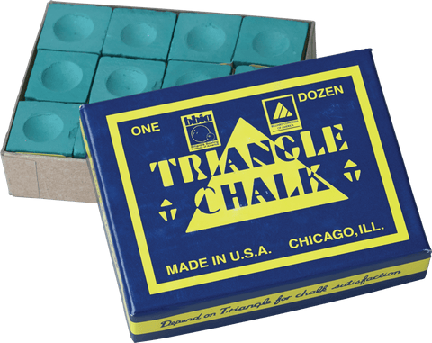 Image of Triangle Chalk 12 Piece Box - CHT12