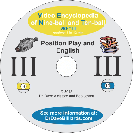 Dr. Dave's Video Encyclopedia of Nine-ball and Ten-Ball Vol. 3