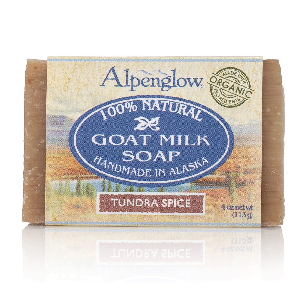 Tundra Spice Goat Milk Soap - Alpenglow Skin Care