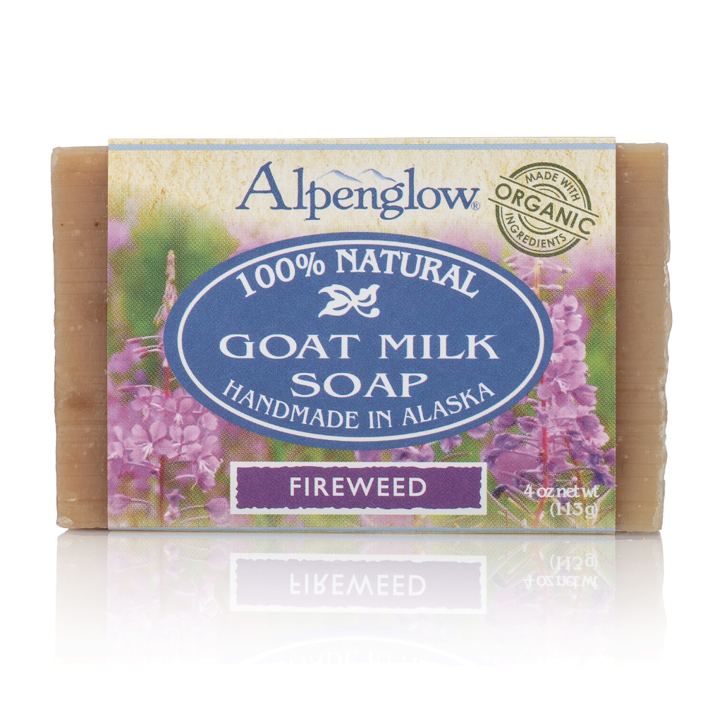 Fireweed Goat Milk Soap - Alpenglow Skin Care