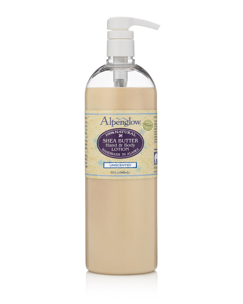 Unscented Shea Butter Hand & Body Lotion