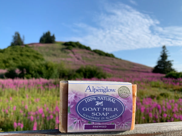 Goat Milk Soap - Fireweed - Alpenglow Skin Care