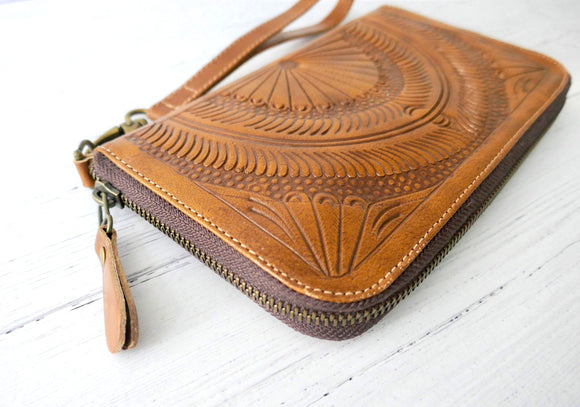 Zip Around Wallet for Women