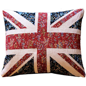 United Kingdom Flag Tapestry Throw Pillow 15x19