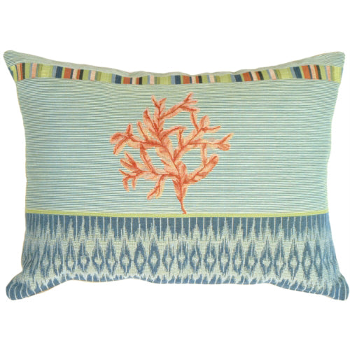 Tropical Coral Pillow
