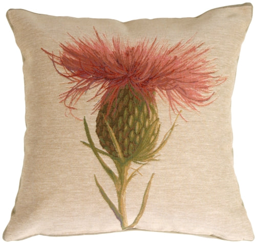 Thistle Flower Pillow