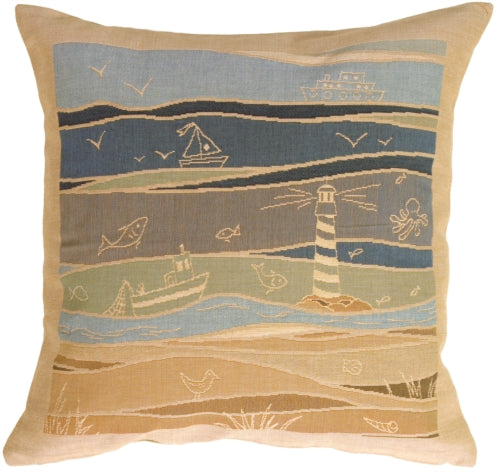 By the Seaside 1 Pillow