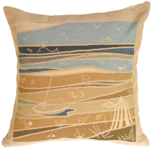 By the Seaside 2 Pillow