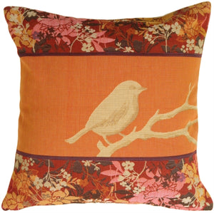 Chickadee Song Bird Pillow