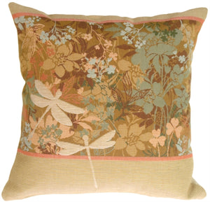 Dragon Fly Dawn Pillow