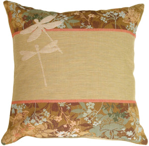 Dragon Fly Dusk 2 Pillow