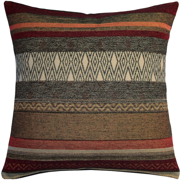 Kilim Road 19x19 Tapestry Throw Pillow