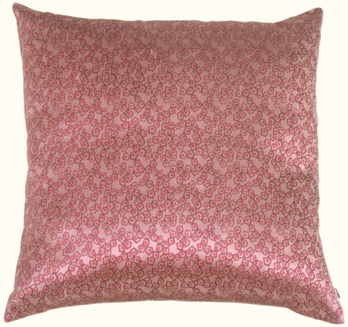 Fine Chain Plumberry Silk Accent Pillow