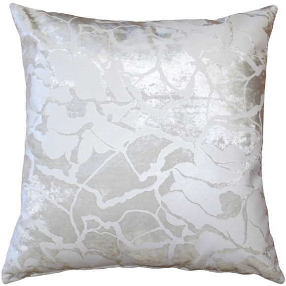 Cicero Pearl Throw Pillow 20x20