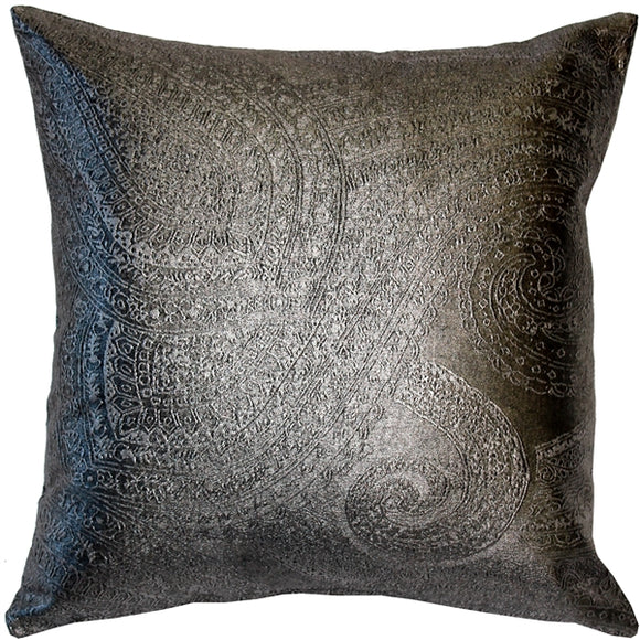Vicenzo Zinc Throw Pillow 18x18