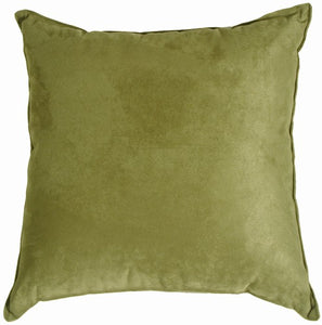 Passion Suede - Sage Pillow