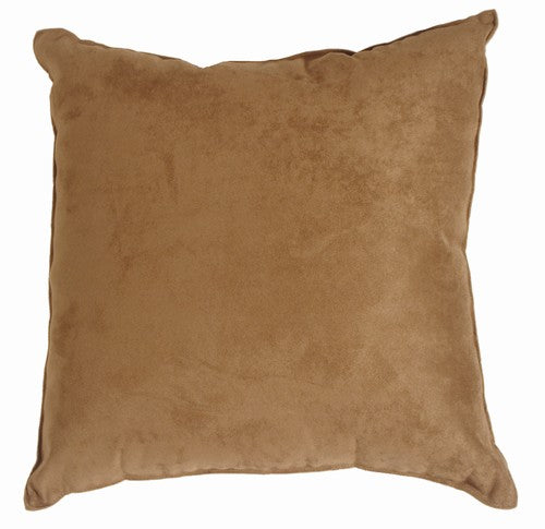Passion Suede - Tan Pillow