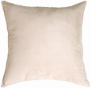 Passion Suede - Oyster Pillow