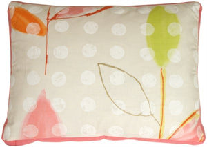 Strawberries & Cream Throw Pillow