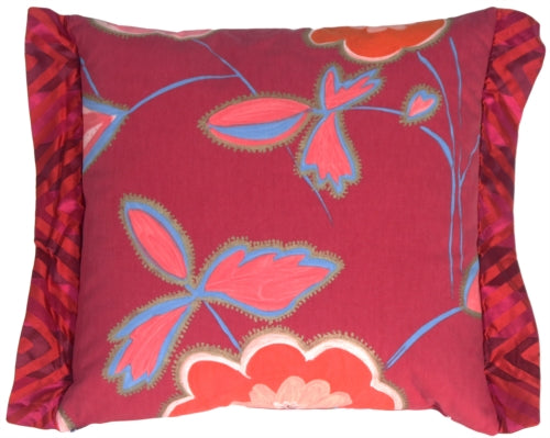 Magnificent Magenta Throw Pillow